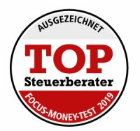 Logo: TOP Steuerberater 2019